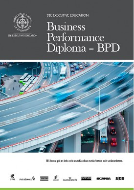 Business Performance Diploma - broschyr