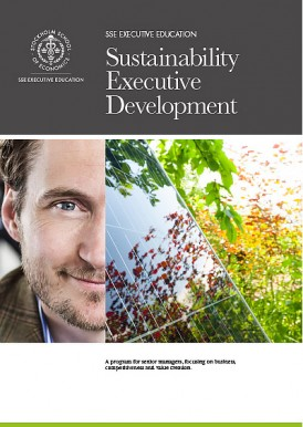 Sustainable Executive Development – ececutive education from SSE Executive Education.