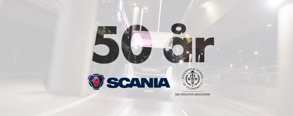 Scania och SSE Executive Education 50 år i konsortieprogram för chefer